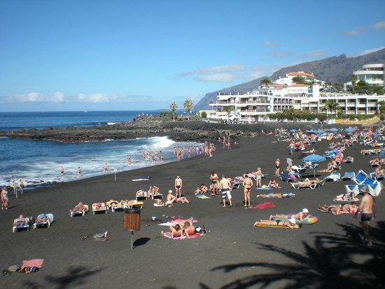 Beach Picture Of Hotel Landmar Playa La Arena Tenerife Tripadvisor