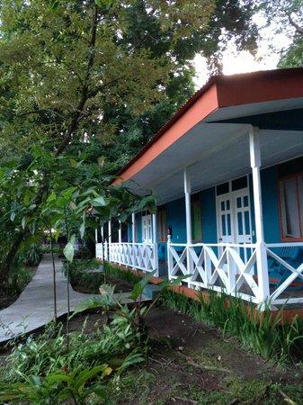 La Baula Lodge : Anlage von draußen