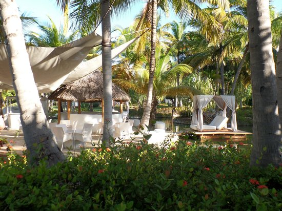 Catalonia Bavaro Beach, Casino & Golf Resort: Nice quiet bar were we spent our evenings