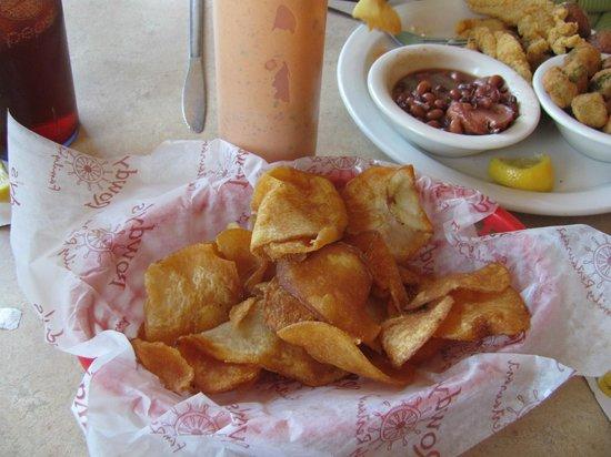 Rowdy's Family Restaurant: Fresh Chips