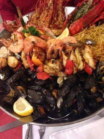 Pedra Alta : Mixed seafood platter for 2