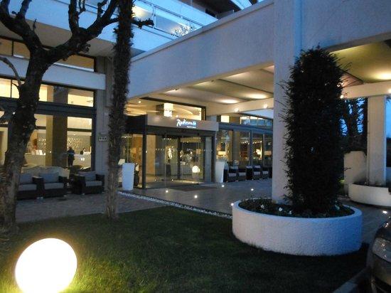 Radisson Blu Resort, Terme di Galzignano: L'ingresso dell'hotel