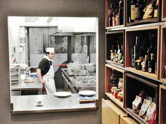 La Spada : La cucina a vista