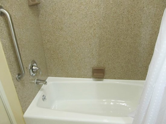Holiday Inn Express Leland-Wilmington Area: Tub-room 221