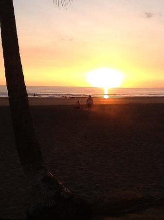 Hotel Mango Mar: solnedgang