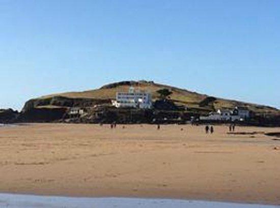 Burgh Island Hotel : Hotel From The Beach