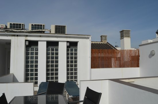 Apartamentos San Pablo : Terrace