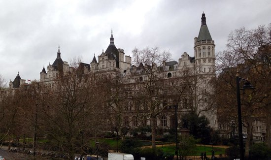 The Royal Horseguards from Hungerford Bridge