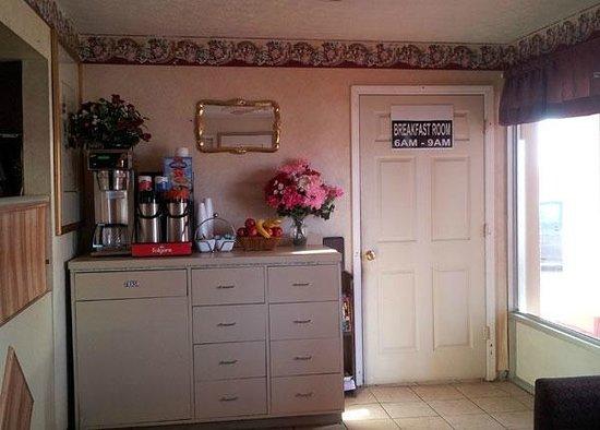 Garden Inn & Extended Stay Shepherdsville / Louisville: Coffee Area