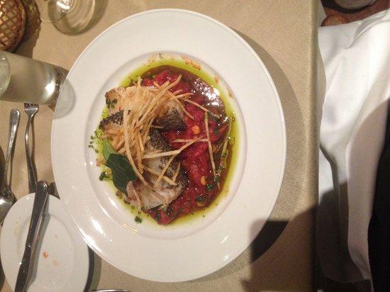 Hotel Santa Cruz : Mero y tomaticán
