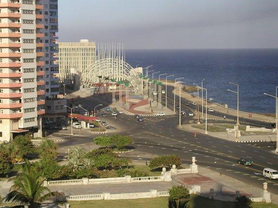Hotel Nacional de Cuba: View from room