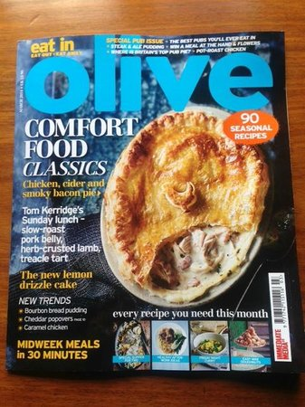 The Red Lion: We appeared in Olive Magazine