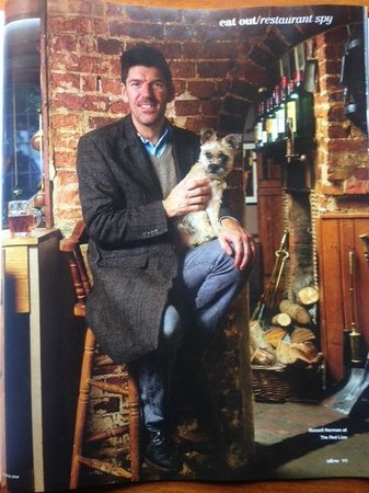 Russell Norman - The Restaurant Man in The Red Lion Stodmarsh