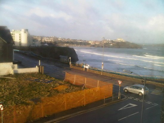 BEST WESTERN Hotel Bristol: view from window of beach