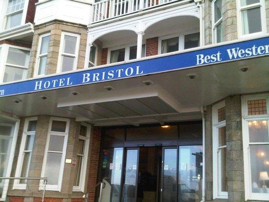 BEST WESTERN Hotel Bristol: front of hotel