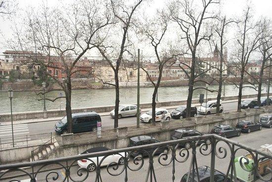 Le Flaneur Bed and Breakfast : il panorama dal soggiorno
