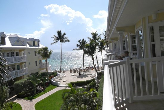 Southernmost Beach Resort: Morning view from room 630.