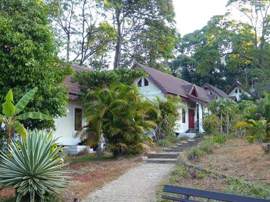 Baan E-Tu Waterfall Resort : les villas