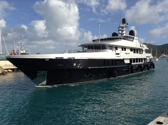 Sint Maarten Yacht Club Bar & Restaurant : great views !
