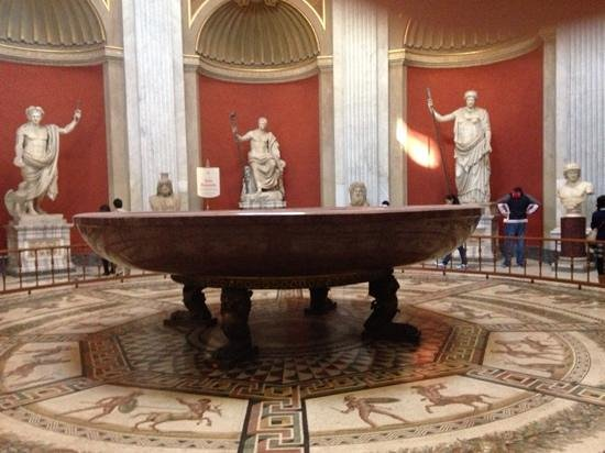 Vatikanische Museen (Musei Vaticani): Het bad van ceasar,natuurlijk het grootste !.