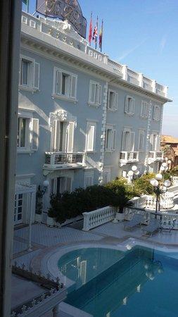 Grand Hotel Des Bains: Vista dalla camera