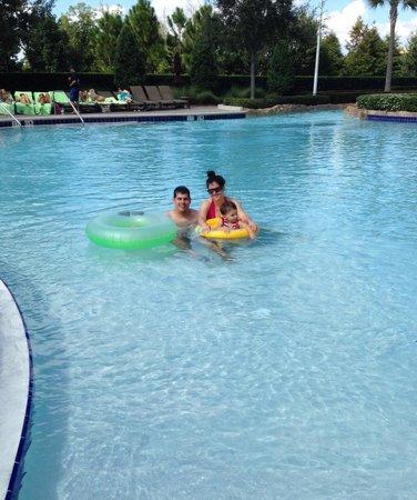 Hilton Orlando Bonnet Creek : Great lazy river