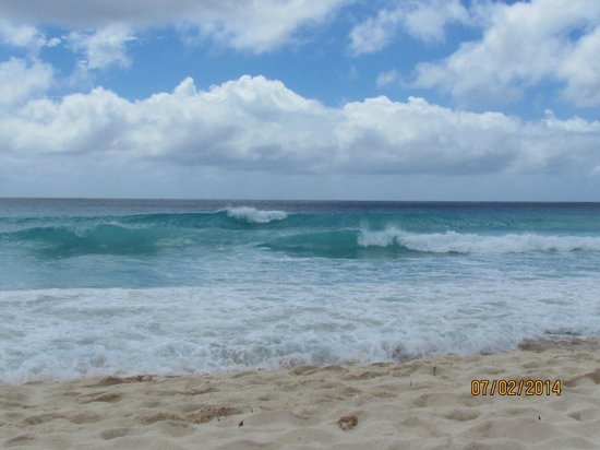 Southern Palms: Big waves and strong current