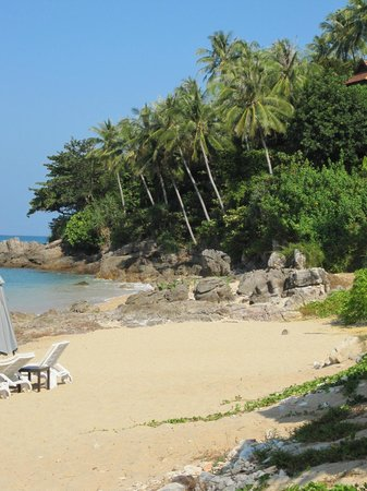 Rawi Warin Resort & Spa : Really quiet beach
