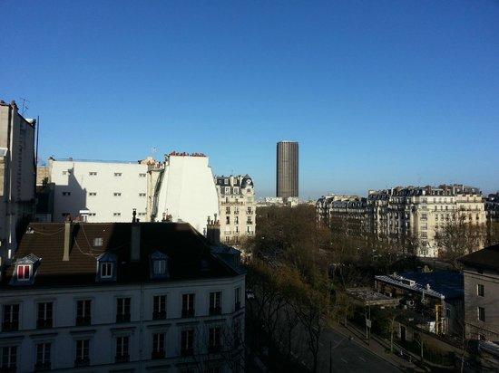 Hotel du Lion: Vista dalla camera (6° piano)