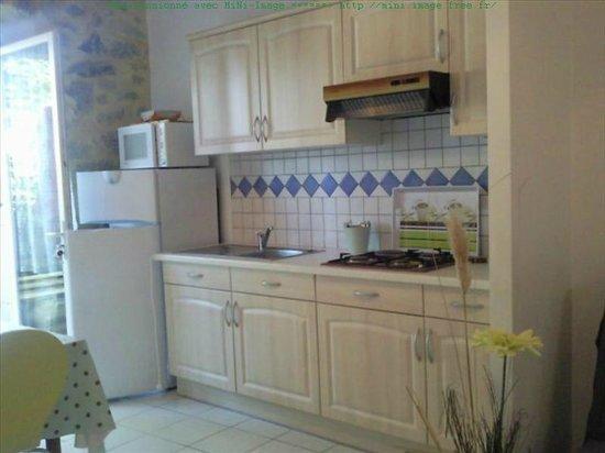 La Clé des Champs : Gite 4 a - Cuisine + séjour et 2 chambres à l étage