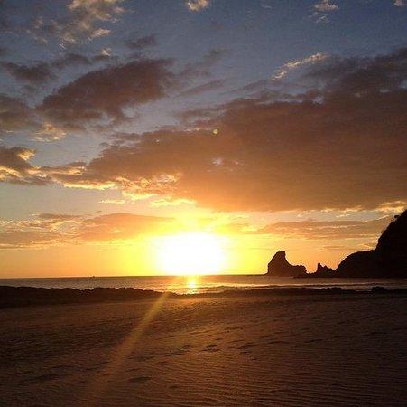 Hostel Clandestino: Maderas sunset!