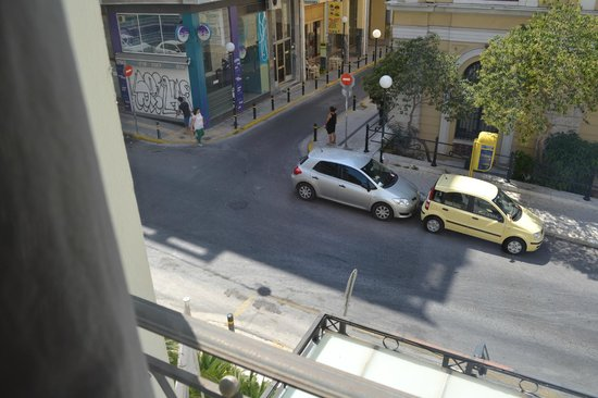 Piraeus Theoxenia Hotel: view from room