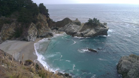 Big Sur Tours and More: waterfall