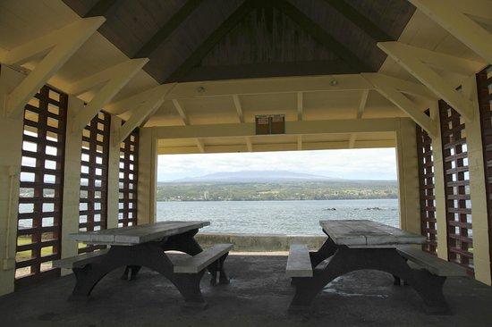 Coconut Island: 島から見たマウナケア