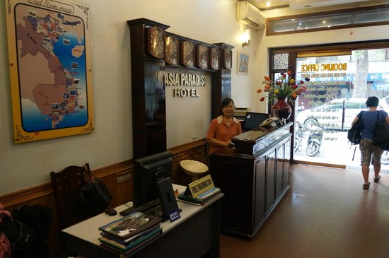 Asia Paradise Hotel : Рецепция отеля