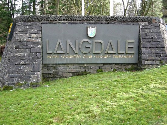 Langdale Hotel : Entrance