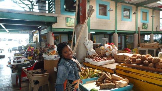 Antigua's Yepton Estate Cottages : St John's market
