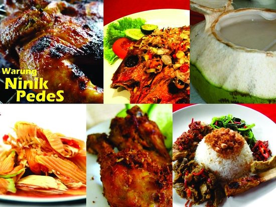 Warung Ninik Pedes: Our best selling food!!