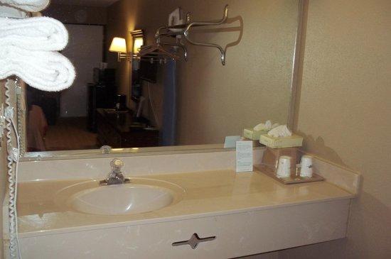Super 8 Jessup/Baltimore Area : Bathroom area