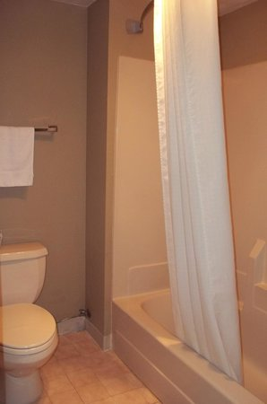 Super 8 Jessup/Baltimore Area: Bathroom was clean