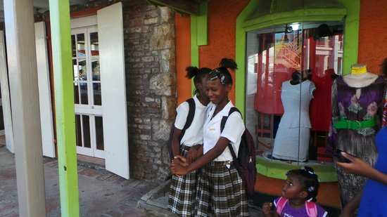 Antigua's Yepton Estate Cottages: School Kids
