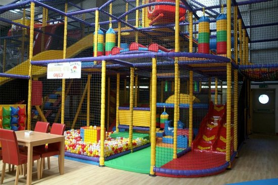 Honiton, UK: Dedicated toddler area so that you can ensure you little one will be safe and happy