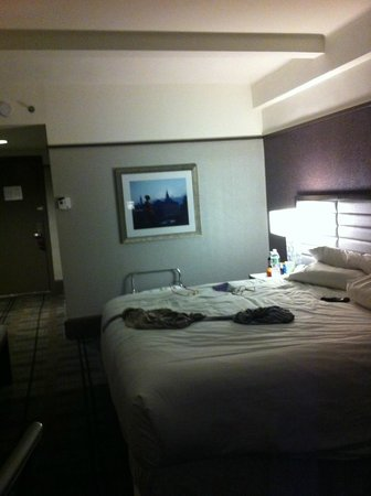 Park Central Hotel New York: CHAMBRE VUE SDB
