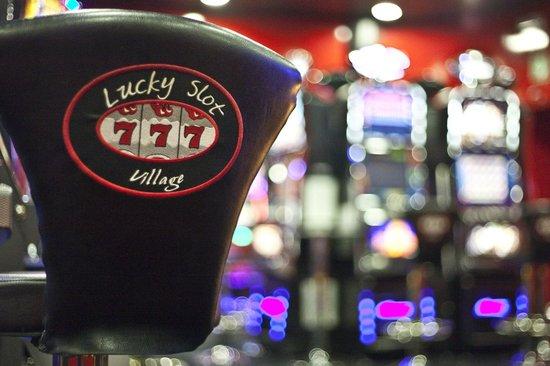 Lucky Slot Village: un particolare della nostra sala