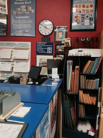 Keep In Touch: Some of our postal supplies and one of our two US Post Office Registers