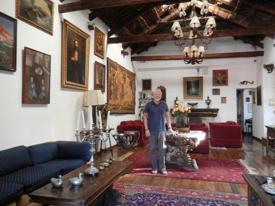 Hotel Casa San Marcos: Great reception hall of the Casa
