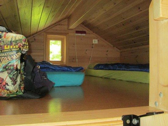Vinje Camping: Loft room