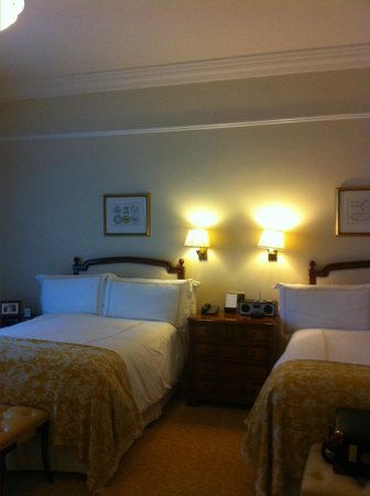 The Savoy: our room
