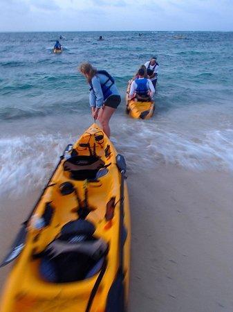 Virgin Kayak Tours: The Launch