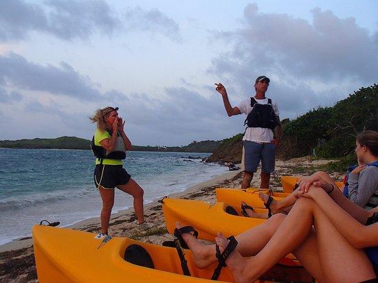 Virgin Kayak Tours: Our Guides Jill & Brian